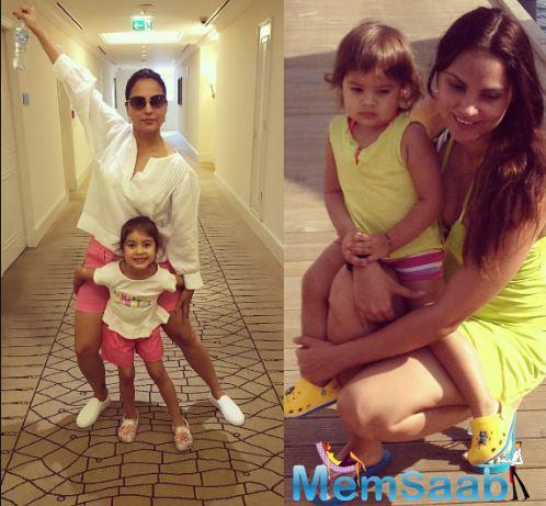The Jhoom Barabar Jhoom actress blames it on motherhood!