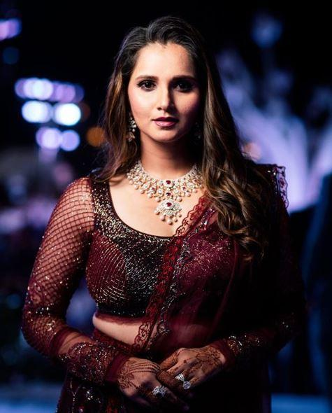 """Sania said, """"I'm trying to keep certain things light keeping in mind the sensitivity of it"""""""