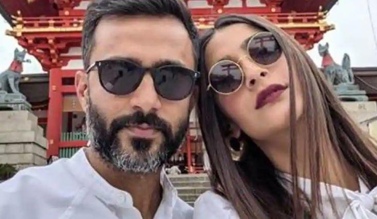 Anand, who tied the knot with Sonam in 2018, teased her for being emotional