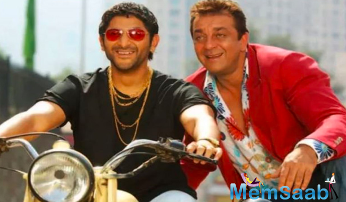 Sanjay Dutt's character of 'bhai' but a kind hearted one that really won hearts of the audiences.