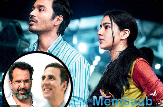Directed by Aanand L Rai, the AR Rahman musical and lyrics by Irshad Kamil is produced by Colour Yellow Productions and marks the first film in which the trio of Akshay , Sara and Dhanush will be seen sharing the screen space.