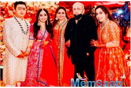 JP Dutta announced the wedding of his daughter Nidhi later this year, adding that she will get engaged in a day or two.