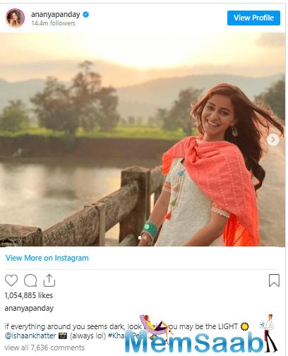 Anaya also has Shakun Batra's next co-starring Deepika Padukone coming up, and