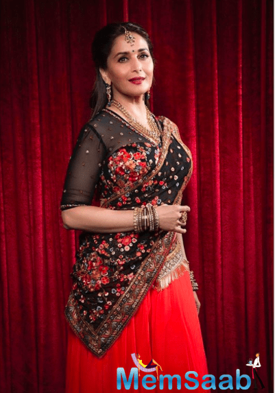 Back to filming her upcoming project, Madhuri spoke to Bombay Times amidst her shoot.