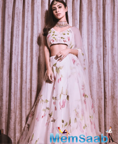 Mouni has paved the way for herself in TV as well as Bollywood.