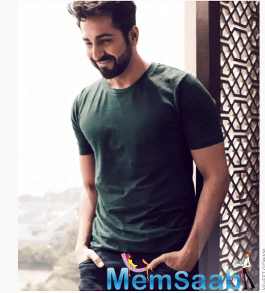 Though the film was entirely shot in Ayushmann's hometown Chandigarh, he stayed in a hotel throughout the 70 day schedule for the sake of his family's safety.