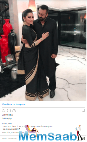 The 'Bhoomi' actor also shared a mushy post for his wife on Instagram to mark the occasion.
