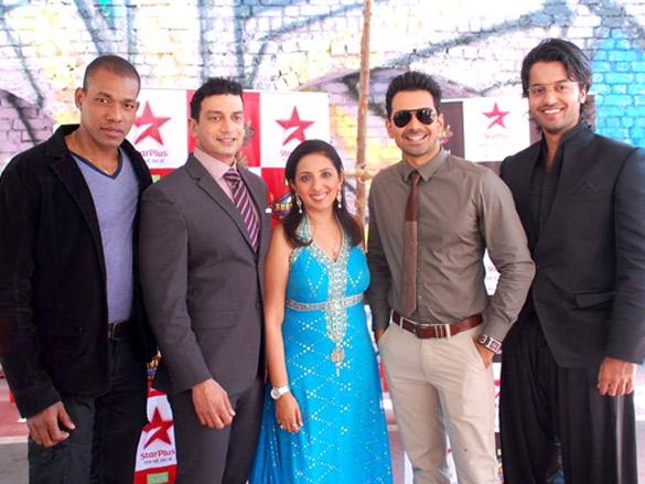 Abhinav Shukla at Promotional Event of Survivor Show