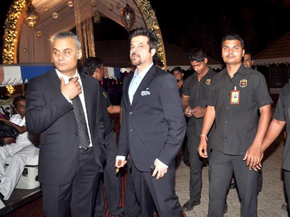 Anil Kapoor at Rakesh Jhunjhunwala's 25th wedding anniversary Bash