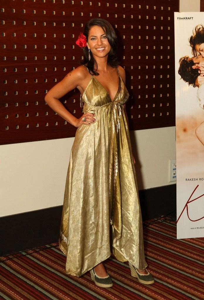 Barbara Mori In Gown Glamour Still