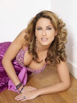 Barbara Mori Sexy Cleavages Show Photo Shoot