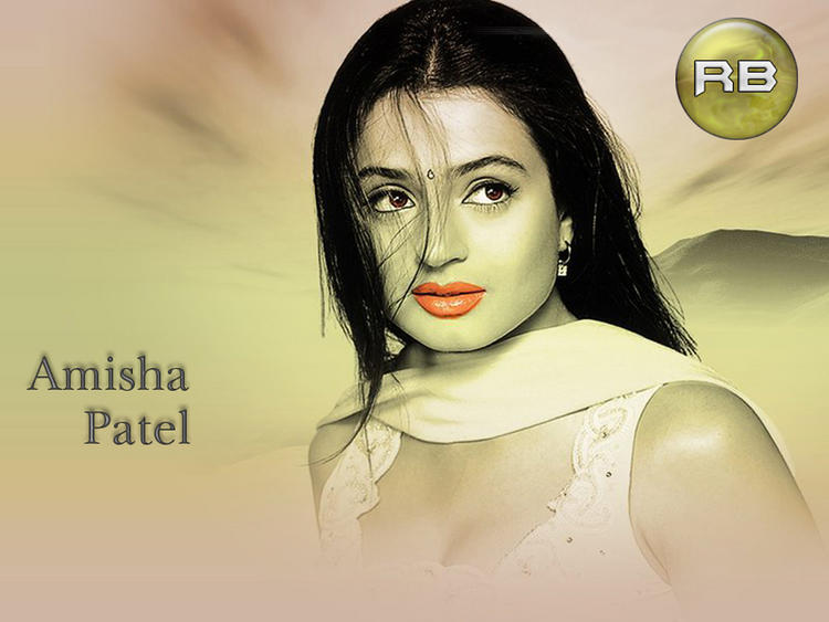 Beautiful Amisha Patel Wallpaper
