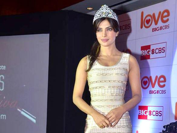 Glam Priyanka Chopra Crowned at CBS Big Show Launch