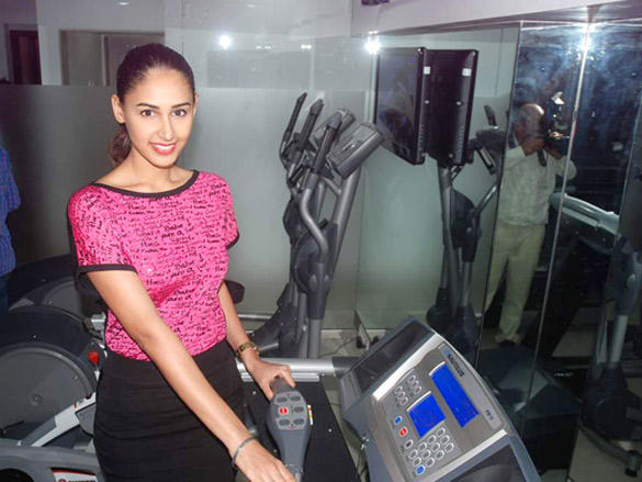 Hasleen Kaur at the Launch of The Pilates and Altitude Training Studio