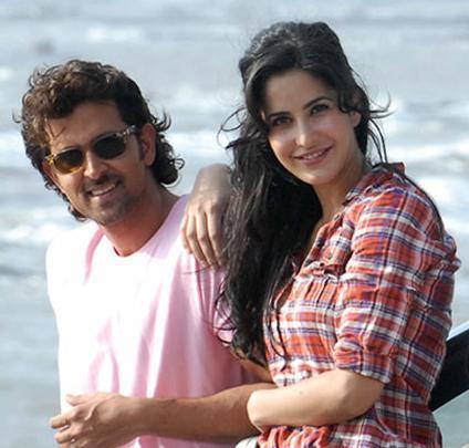 Hrithik Roshan and Katrina in Zindgi Na Milegi Dobara