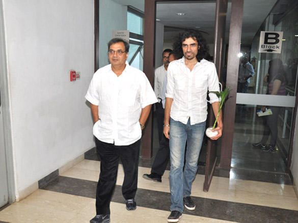 Imtiaz Ali and Sumit Basu at WWI 1st session