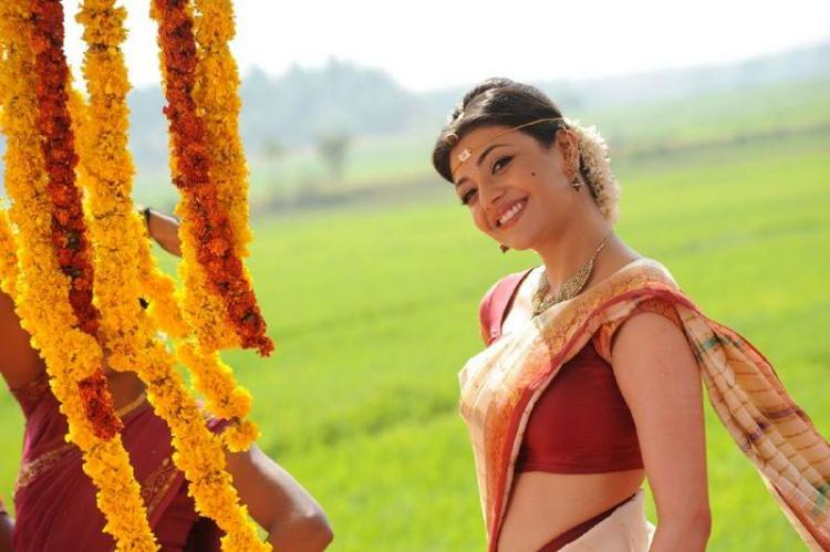 Kajal Agarwal In Saree Beauty Still