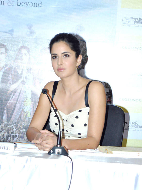 Katrina Kaif at Rajneeti The Film and Beyond Book Launch