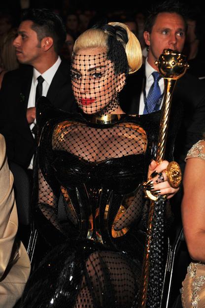 Lady Gaga at 54th Annual Grammy Awards