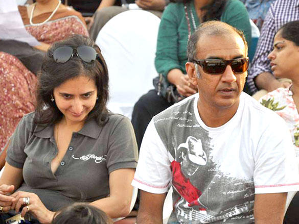 Milan Luthria During Argentine VS Arc Polo Match