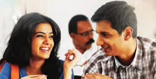 Nee Thaane En Pon Vasantham Jeeva and Samantha Smile Face Photos