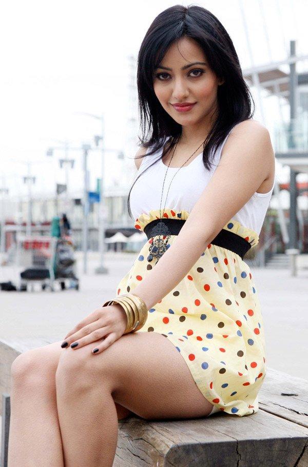Neha Sharma Mini Dress Sizzling Photo Shoot