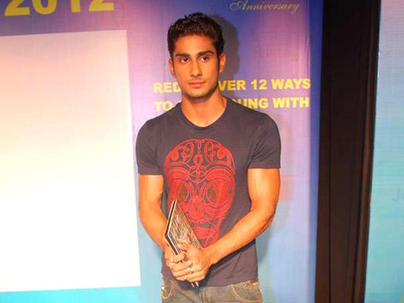 Prateik Babbar at Launch of Gold's Gym Calendar