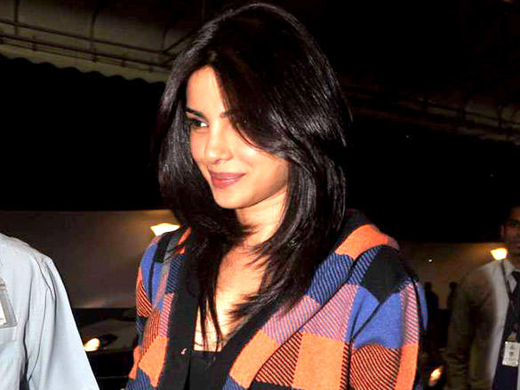 Priyanka Chopra at the International Airport