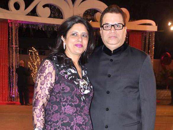 Ramesh Taurani at Vikas Kalantri wedding reception