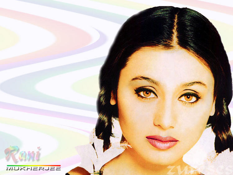 Rani Mukherjee Glazing Eyes Wallpaper