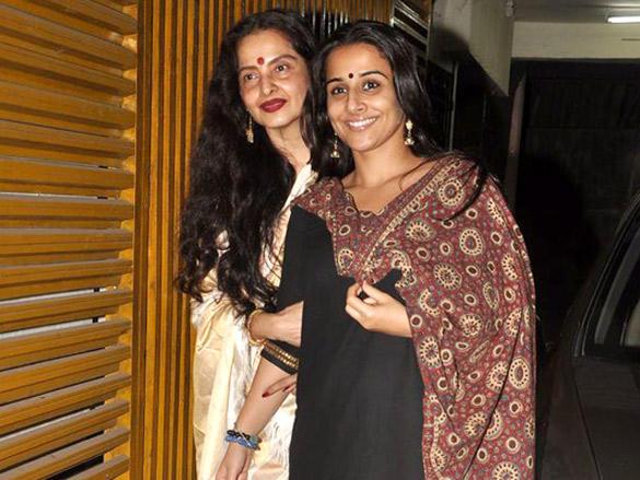 Rekha,Vidya Balan Glamour Still
