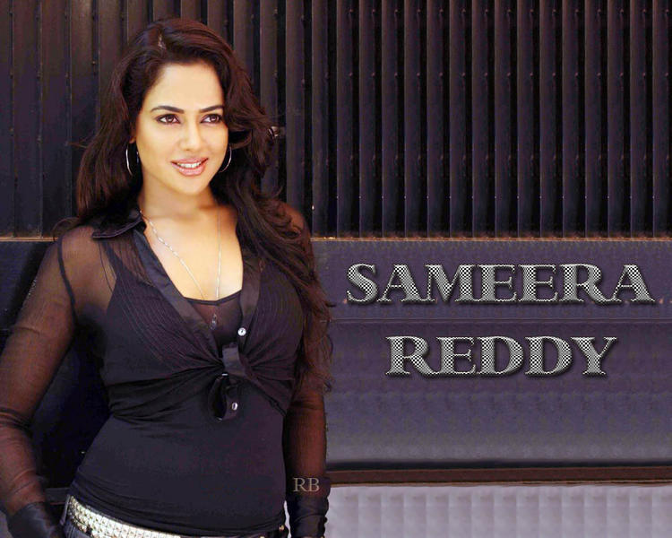 Sameera Reddy Awesome Beauty Face Wallpaper