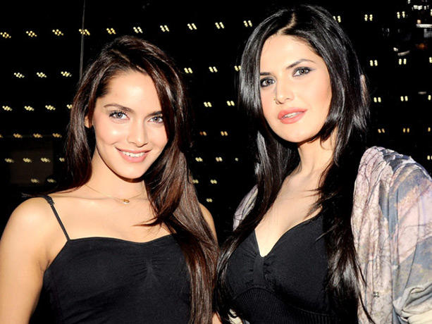 Shazahn Padamsee,Zarine Khan Looks Very Gorgeous