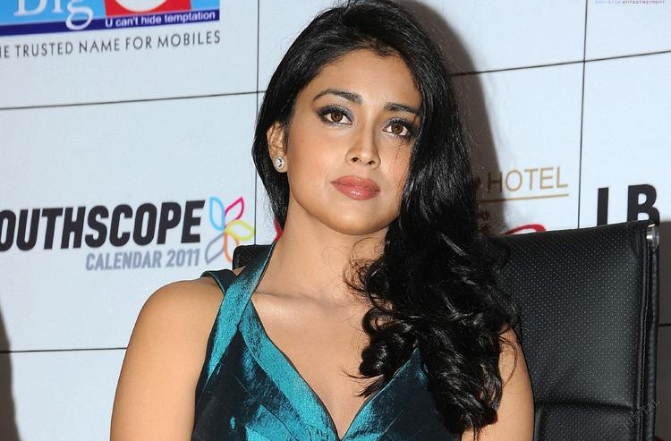 Shriya Saran Glamour Face Look