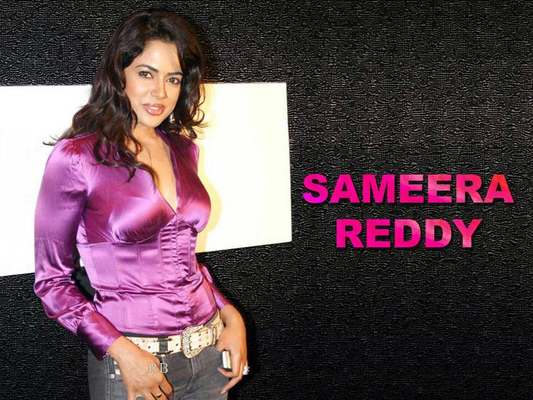 Spicy Actress Sameera Reddy Wallpaper