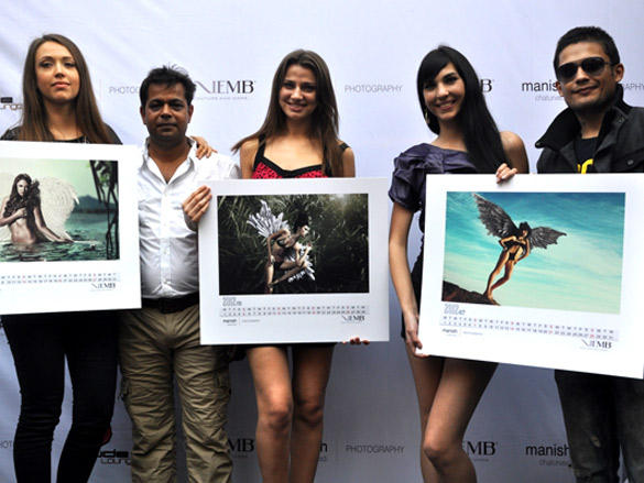The gorgeous calendar finally unveiled by Manish Chaturvedi and Siddharth