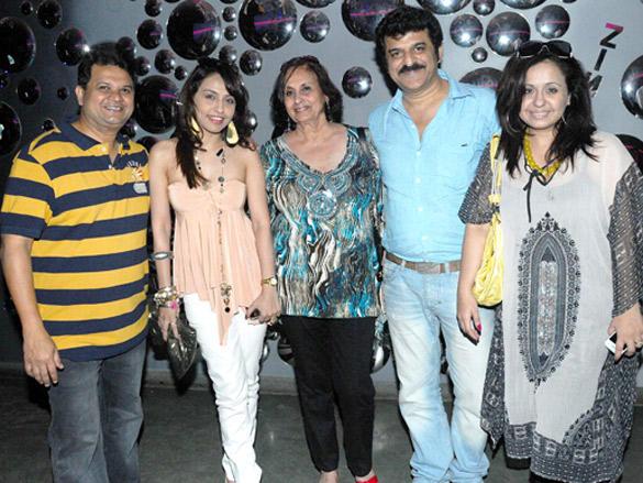Viren Shah at his Happy Slappy party