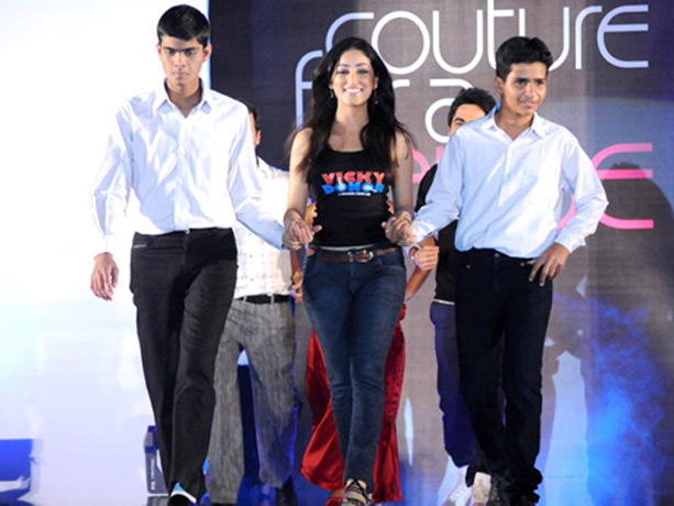 Yami Gautam at Couture for Cause Fashion Show in ITC Maratha