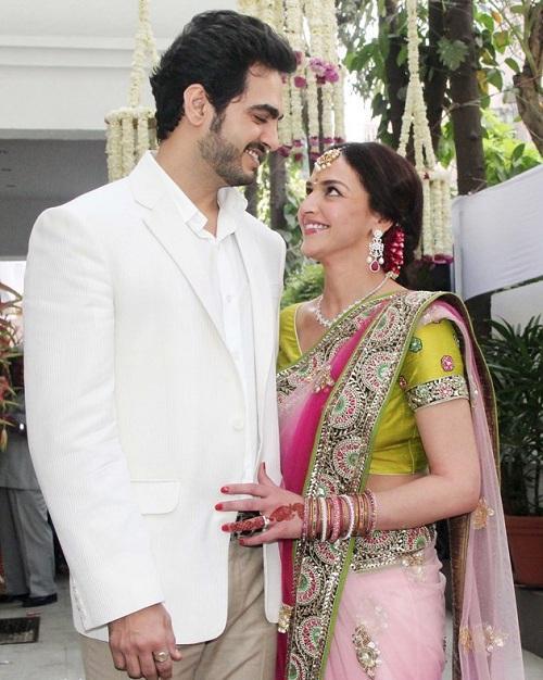 Esha-Bharat Engagement
