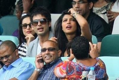 Shahid Kapoor Priyanka Friends again