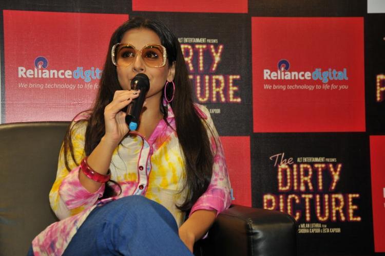 Vidya talks The Dirty Picture