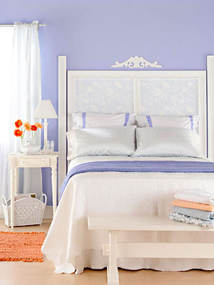 periwinkle bedroom