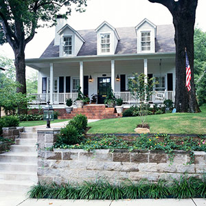 Southern Colonial style house