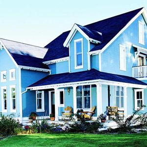 Farmhouse style house