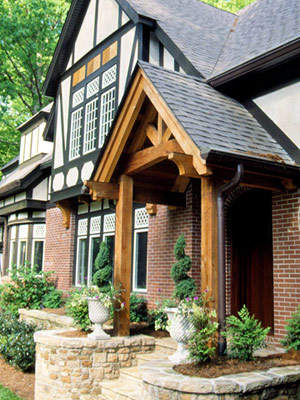 Tudor style hosue