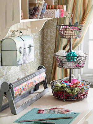 fruit basket to desk organizer