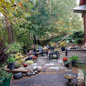 Life on Maple Grove : Budget-Friendly Ideas for Outdoor Rooms on Low Cost Backyard Patio Ideas id=72805