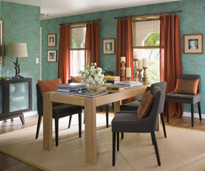 Make-over for a multi-use dining room