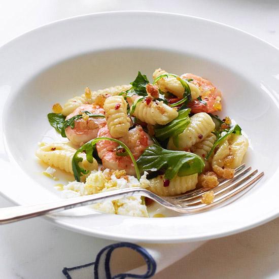 Cavatelli with Spicy Shrimp