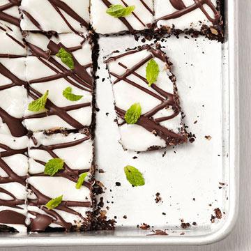 Dark Chocolate Mint Bars Midwest Living